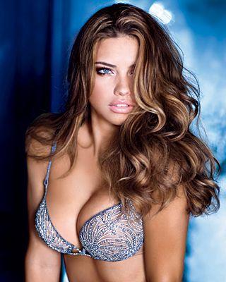 Adriana Lima Victoria's Secret sexy lingerie