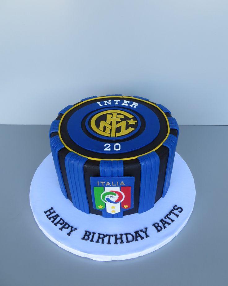Inter Milan soccer cake