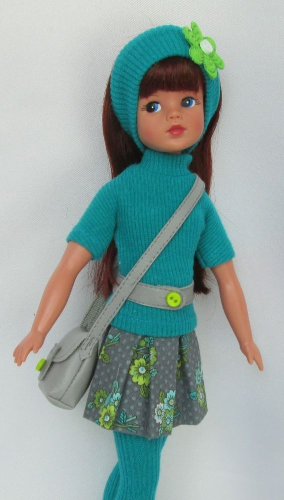 "SINDY'S 1960s SCHOOL-GIRL CRUSH! FOR TONNER 11"" SINDY.MADE BY SSDESIGNS"
