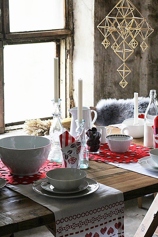 Finnish Christmas Table