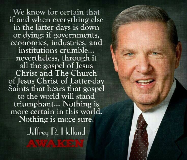 """""""Through It All The Gospel Of Jesus Christ And The Church"""
