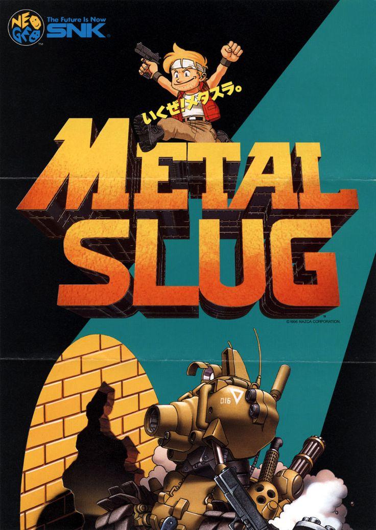 Metal Slug, found on Metal Slug Anthology on PS2 and Wii