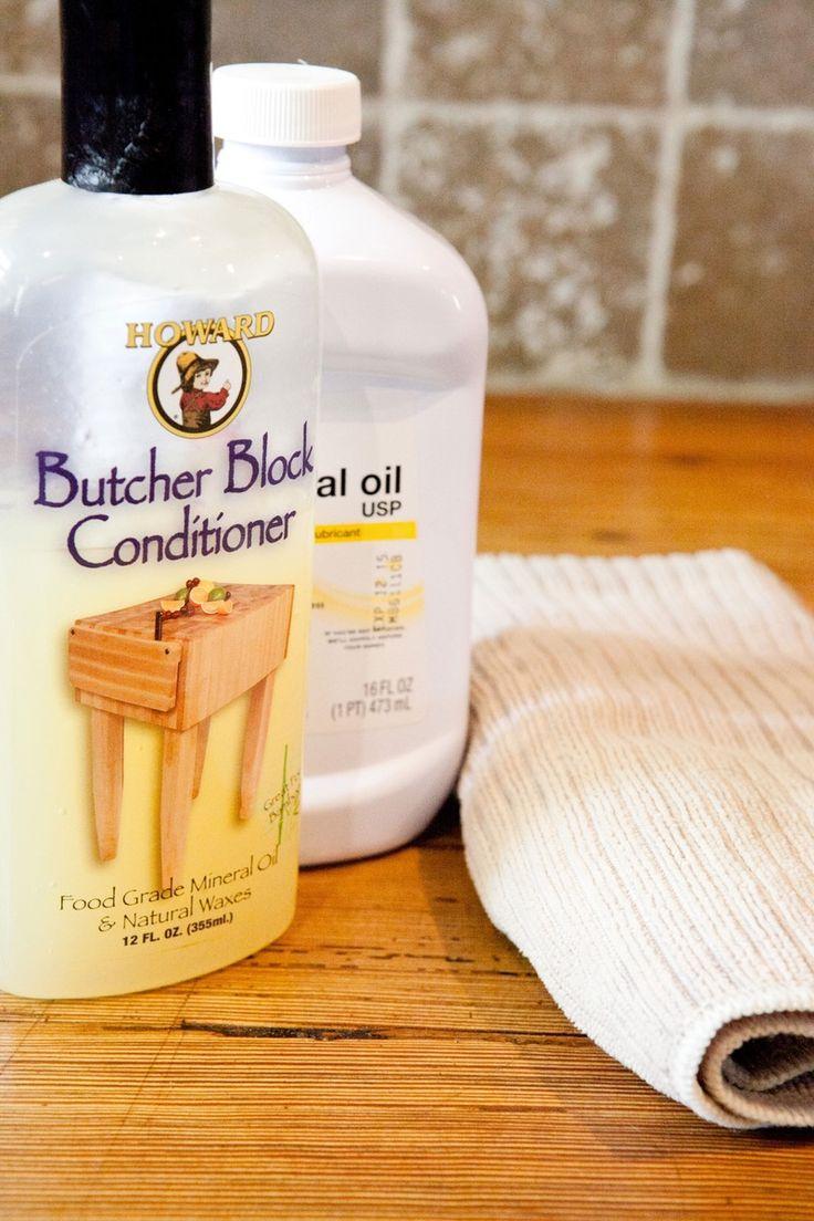 How To Oil Butcher Block Countertops