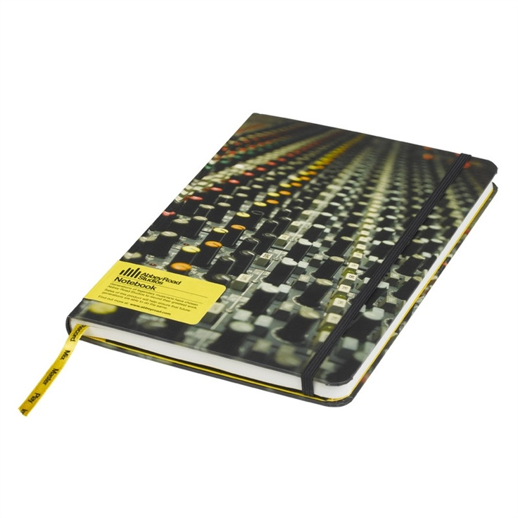 Abbey Road A5 Notebook design by Wild & Wolf