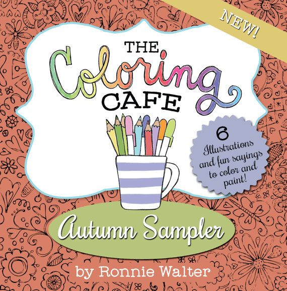 108 Best Ronnie Walter Coloring Books Images On Pinterest