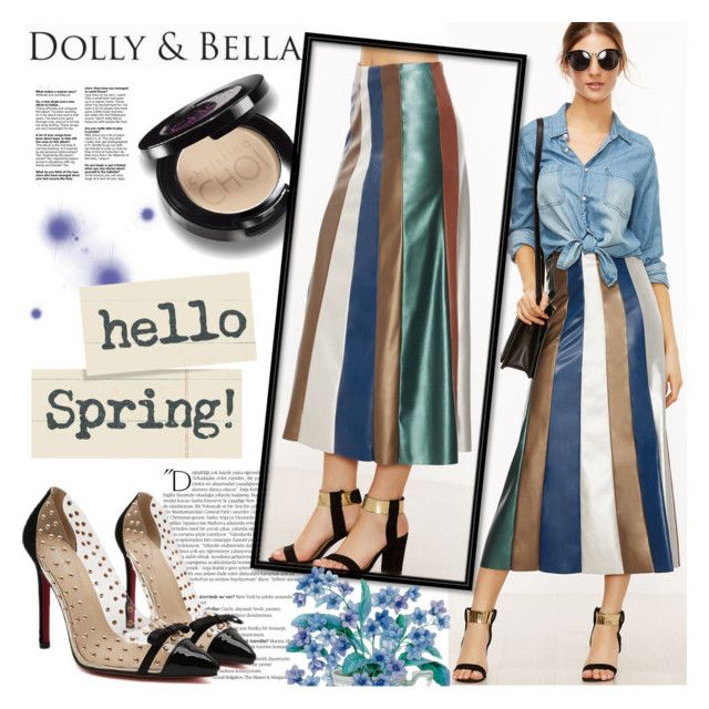 """""""DOLLY&BELLA"""" by gaby-mil ❤ liked on Polyvore featuring Balmain, Christina Choi Cosmetics, Online and dollyandbella"""