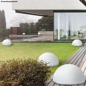 moderne Leuchtkugeln für den Garten