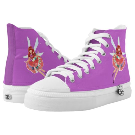 Ruby Official Dress Zipz High Top Shoes. www.tommytinkerstore.com . . .  A fresh look at sneakers, ZIPZ® shoes give you a one-of-a-kind way to express yourself! #fairyshoes