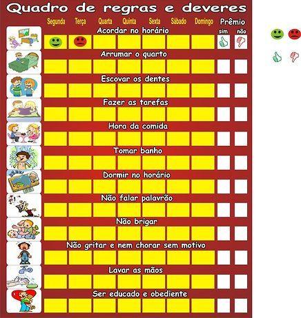 lista de tarefas infantil - Pesquisa Google