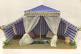 art.:8102 Tenda araba per pastori cm 8-10 vari colori lung cm 29 x prof. cm 16 per h cm22 Prezzo € 21,50