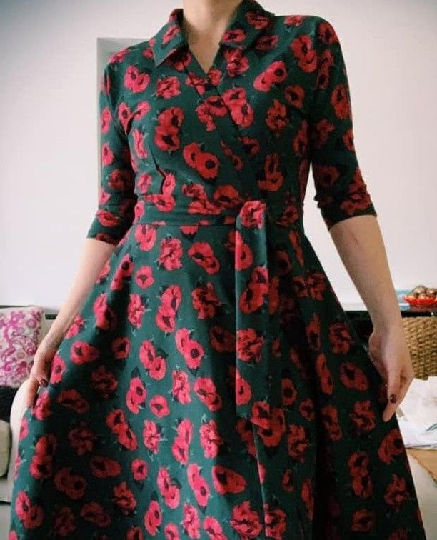 The Lovely Judy Loved The Fit Of The Samantha Dress So Much That She Made Not 1 Not 2 But 4 Of Them In 4 Days She Very Kindl Dresses Beautiful Outfits Fashion