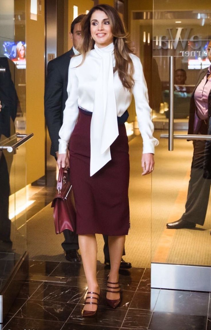 20 September 2016 - Queen Rania at the CNN Studios in New York for an interview with Christiane Amanpour
