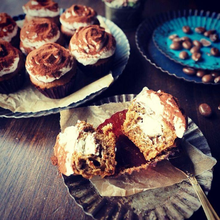 ほろ苦大人味♪オーブンまで5分のひとくちティラミスマフィン♪ | しゃなママオフィシャルブログ「しゃなママとだんご3兄弟の甘いもの日記」Powered by Ameba