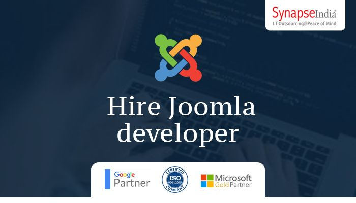 Hire Joomla developer from SynapseIndia to bring out the best