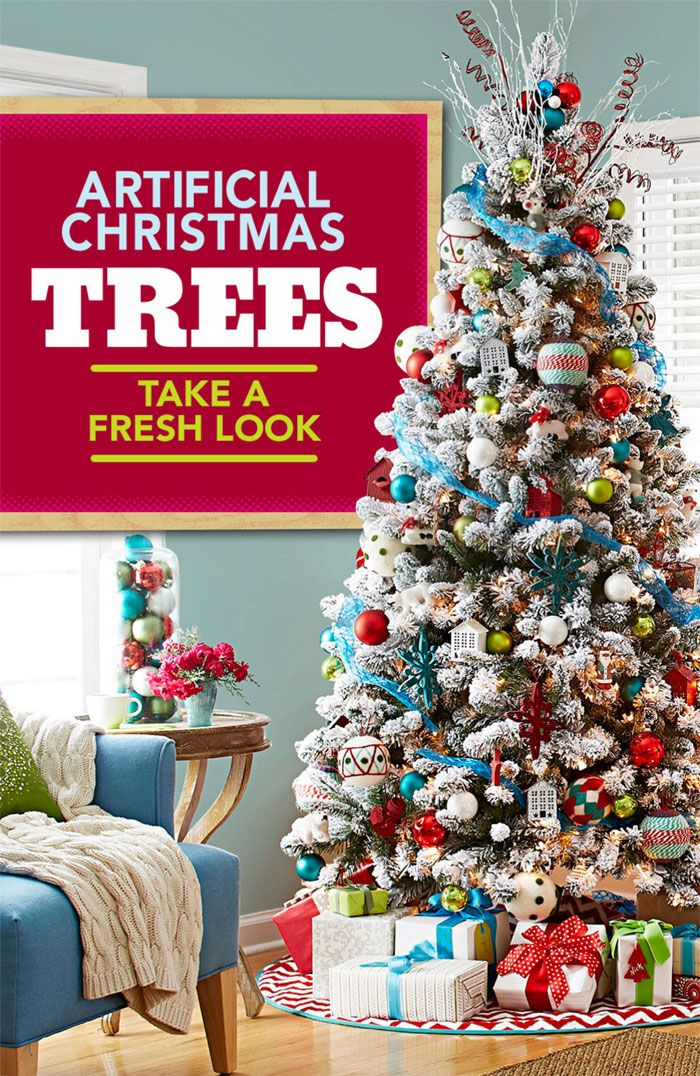 9ec01ee2d5b6 Make your faux tree glow! Our ultimate guide for choosing an artificial tree.tabletop  Xmas tree