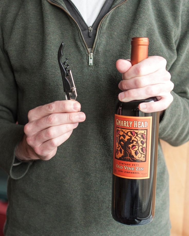How To Open a Bottle of Wine Using a Wine Key Corkscrew