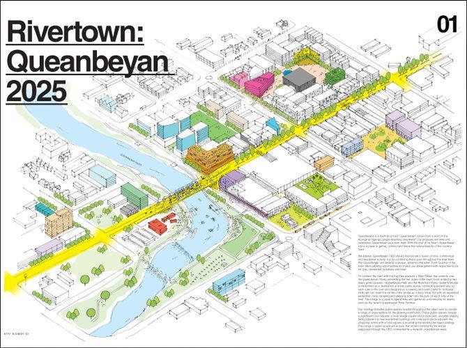 Queanbeyan New Q - Rivertown - Stewart Architecture