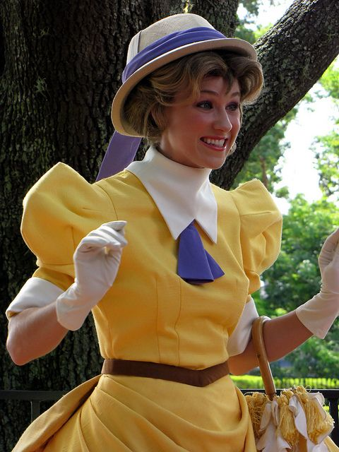 Disney Face Characters | Jane Porter | by disneylori, via Flickr (I want to be her so badly)