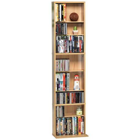 Summit Maple Media Storage Cabinet -