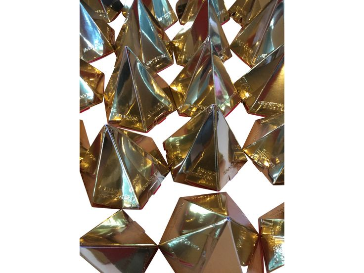 Gold Pyramid Favor Boxes : Best images about corporate gift boxes on