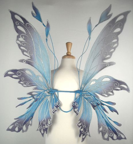 The most exquisite fairy wings ever.  Gossamer Wings -- www.fairy-wings.com