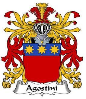 Agostini family crest