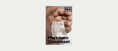 Markdown Cheatsheets