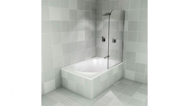 Decina Cascade Shower Pivot Panel - Showers - Baths & Toilets - Bathroom, Tiles & Renovations | Harvey Norman Australia