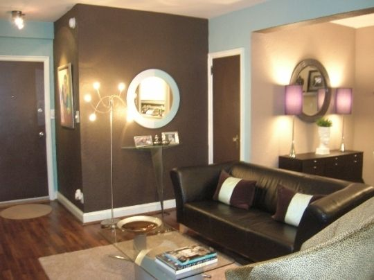 Is The Brown Accent Wall Too Dark Love It Colors Home Decor Styles