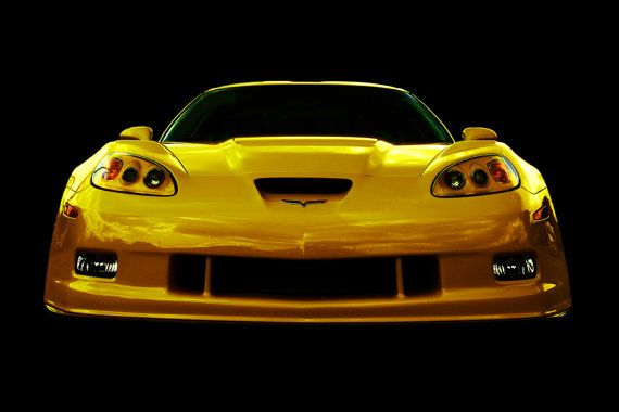 Classic 2009 Corvette photo by PaulMcWainPhoto on Etsy, $40.00