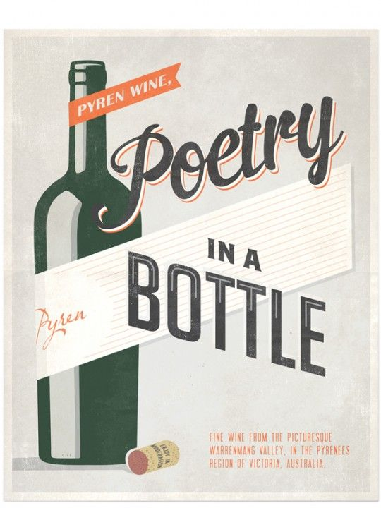 Pyren Wine Ad - image 1 - student project