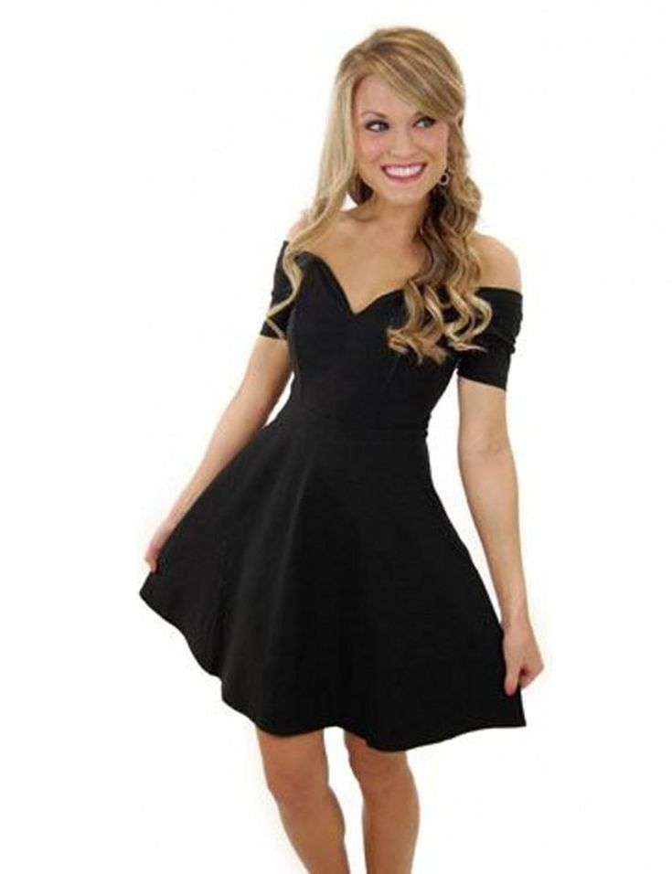 Cute black dresses cheap