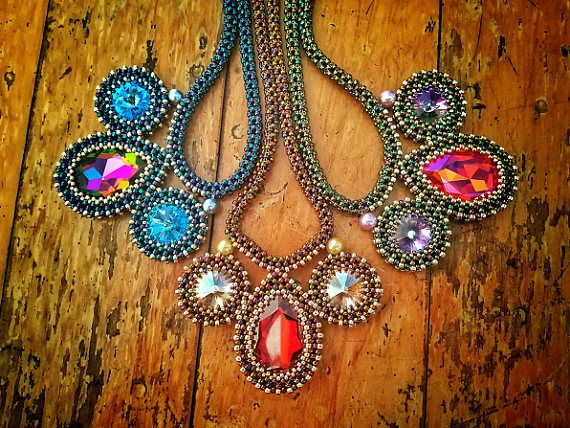 Provoquant Necklace Tutorial by Jenny Sangster