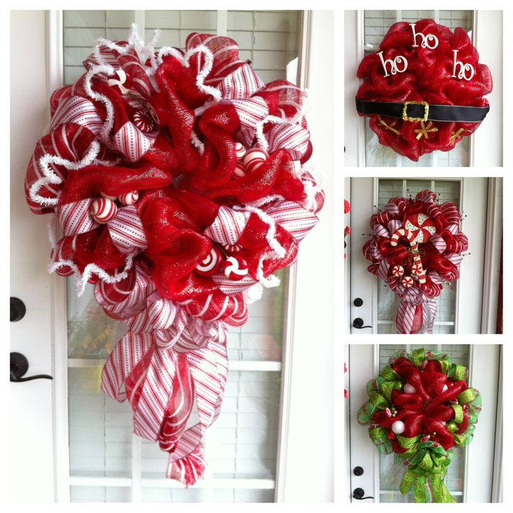 108 best Wreaths images on Pinterest Holiday wreaths, Garlands and