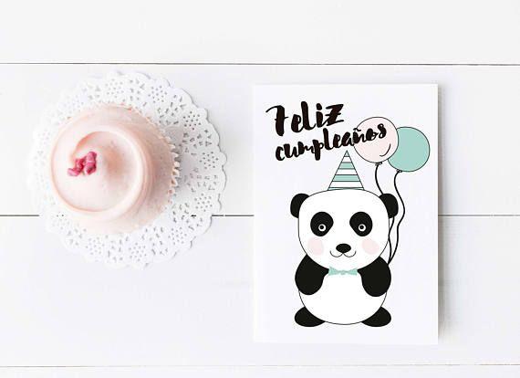 Tarjeta De Cumpleanos Panda Felicitacion Para Nina Tarjeta Feliz Cumpleanos Tarj Tarjeta De Felicitacion Tarjetas De Feliz Cumpleanos Tarjetas De Cumpleanos