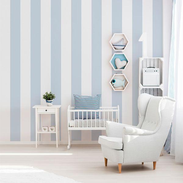 Las 25 mejores ideas sobre papel pintado rayas en pinterest papel pintado a rayas rayas en - Papel pared barcelona ...