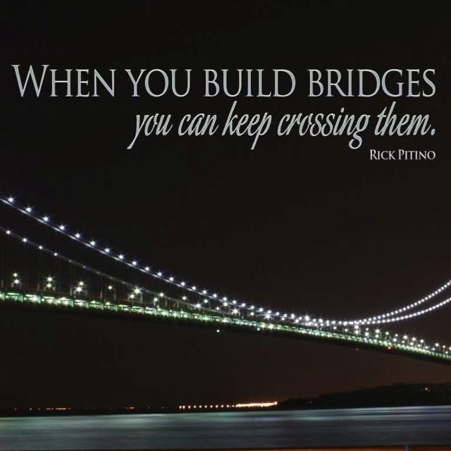 Image result for build bridges for you image