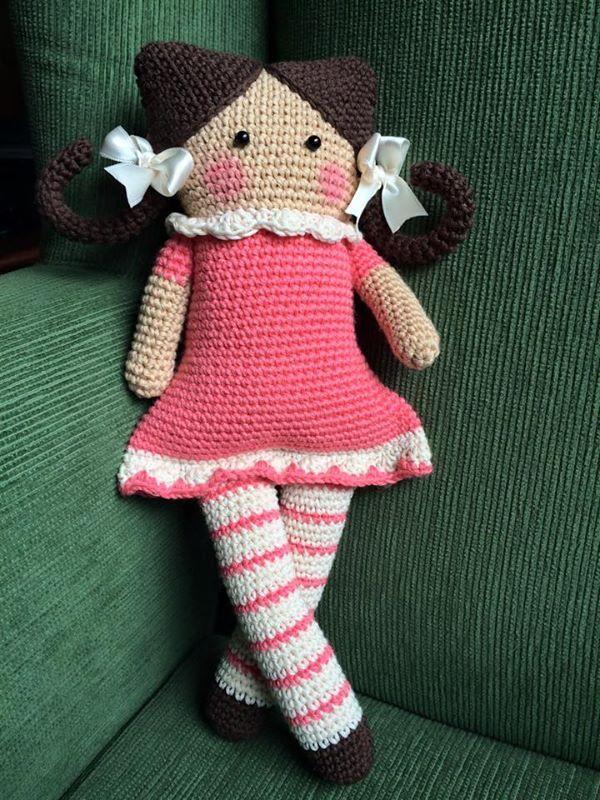 Atractivo Los Patrones De Crochet Muñecas Fotos - Manta de Tejer ...