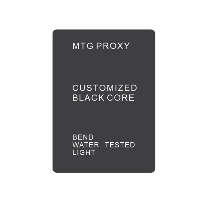 33.75$  Watch here - proxy mtg cards magical customized black core paper made cards 0.31mm the thickness 88x63mm size gathering any cards you want  #buymethat