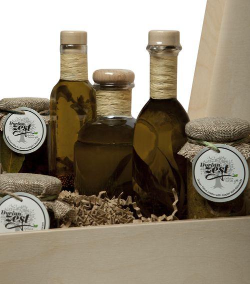Olive Tree Gourmet Basket