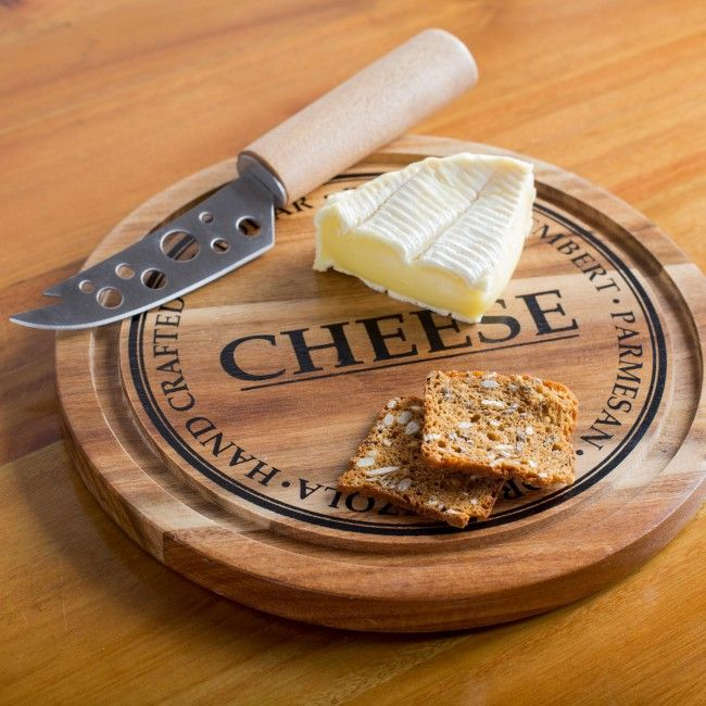 Cut, slice and serve your favourite cheese and crackers on our durable and attractive Mini Artisanal Board. Rich and beautiful acacia wood has an elegant grain that looks great with any decor and includes one stylish cheese knife with matching acacia wood handle.