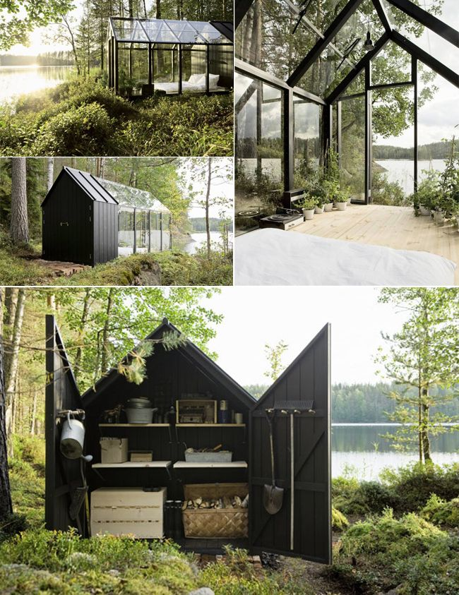 17 best ideas about prefab sheds on pinterest midcentury for Garden office with side shed