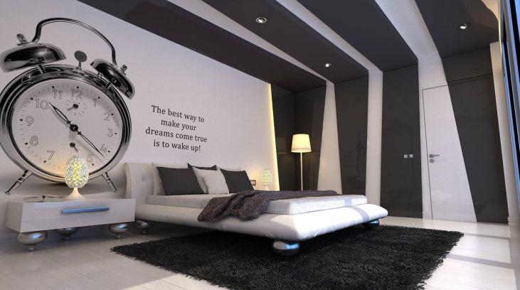 pomysl na sypialnie nowoczesna sypialnia 17
