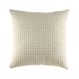 "Hand-picked by author and interior designer Stephanie Stokes, this artful accent brings cottage-chic style to your library, guest room, or den.Product: PillowConstruction Material: Cotton and polyesterColor: CreamFeatures: Hidden zipperIncludes high-fiber insertDimensions: 18"" x 18"" Cleaning and Care: Dry cleaning recommended"