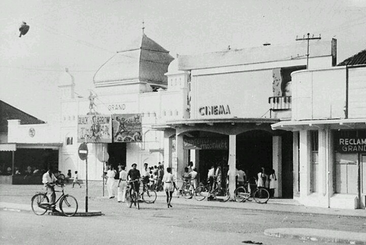 Cinema at Malang 1950
