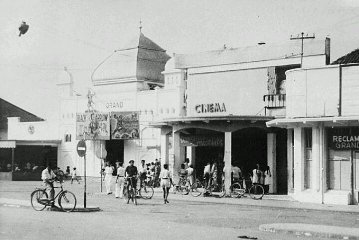 Cinema at Malang 1950