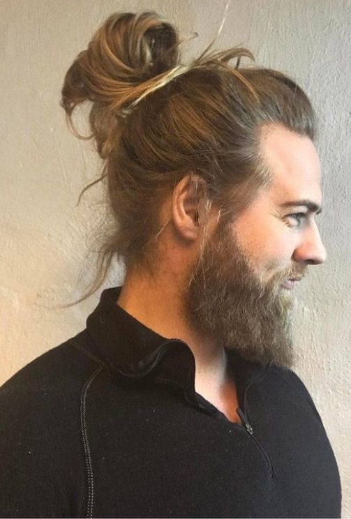 22 Mens Long Ponytail Haircuts 2018 Men S Haircuts 2018 Man Bun