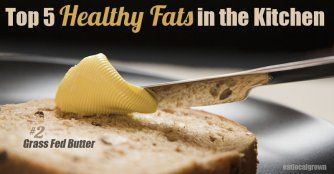 Top 5 Healthy Fats in the Kitchen