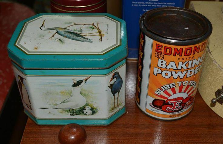 Caddies and tins were in everybody's kitchen.