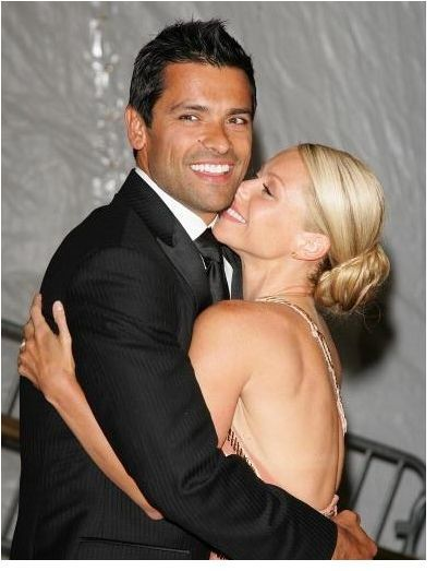 Mark Consuelos (married to Kelly Ripa)  Wow, I just expressed my love for Consuelos to my boyfriend, who agreed, he is a handsome man.